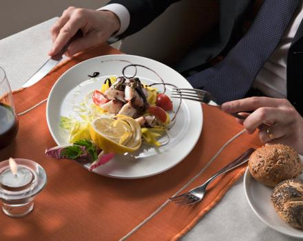 The restaurant at the Best Western Hotel Golden Mile  in Milan Trezzano Sul Naviglio offers you the taste of local cusine