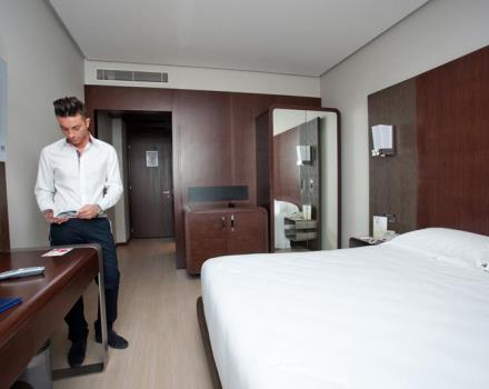 The 150 rooms of Best Western Hotel Goldenmile Milan guarantee you maximum comfort with 4 star services!