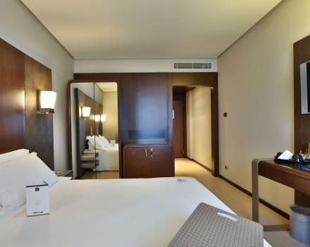the BW Hotel Goldenmile Milan, 4 star hotel near Milan, has 150 rooms in various categories. Choose one that suits your needs!