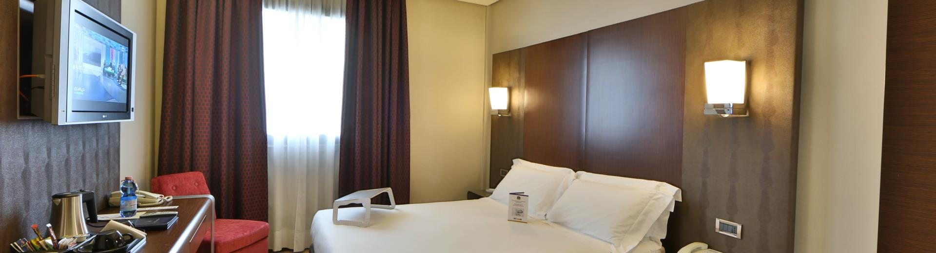 BW room Hotel Goldenmile Milan