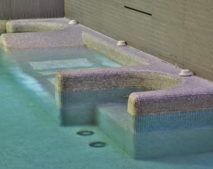 Relax in the Wellness Centre with swimming pool and Jacuzzi!